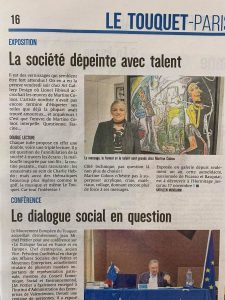 Read more about the article Vernissage de Martine Coloos