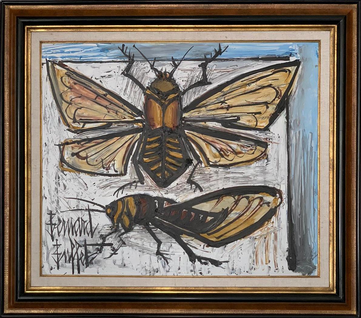Bernard Buffet-la cigale 55x46