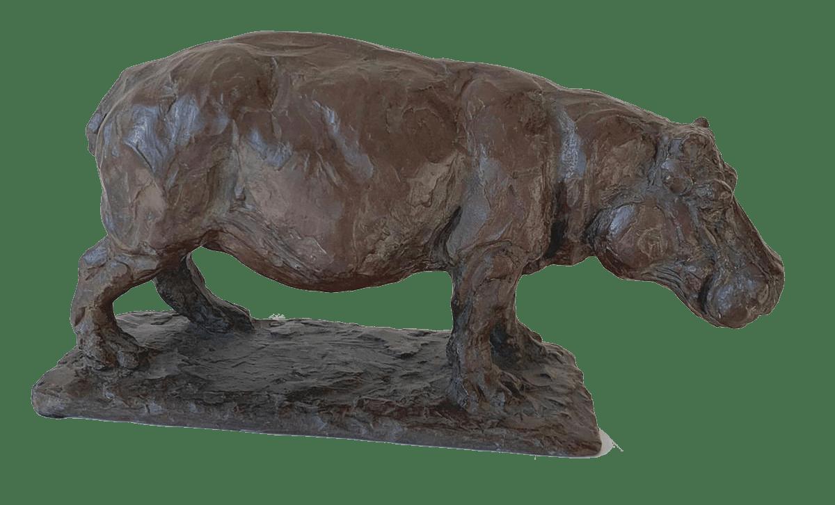 Hippopotame - Roch Vandromme-min