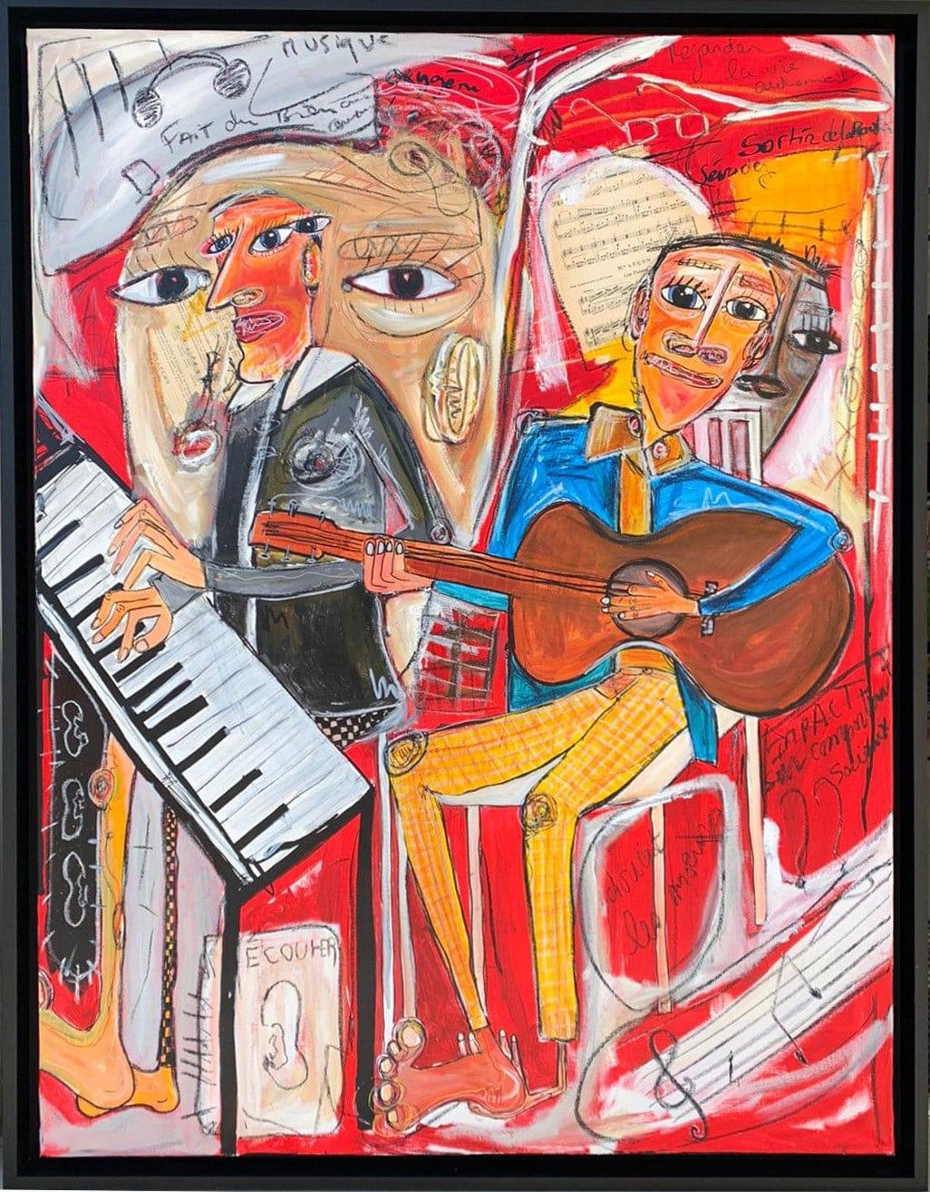 Rencontre – Martine Coloos, artiste peintre – Samedi 18 juillet