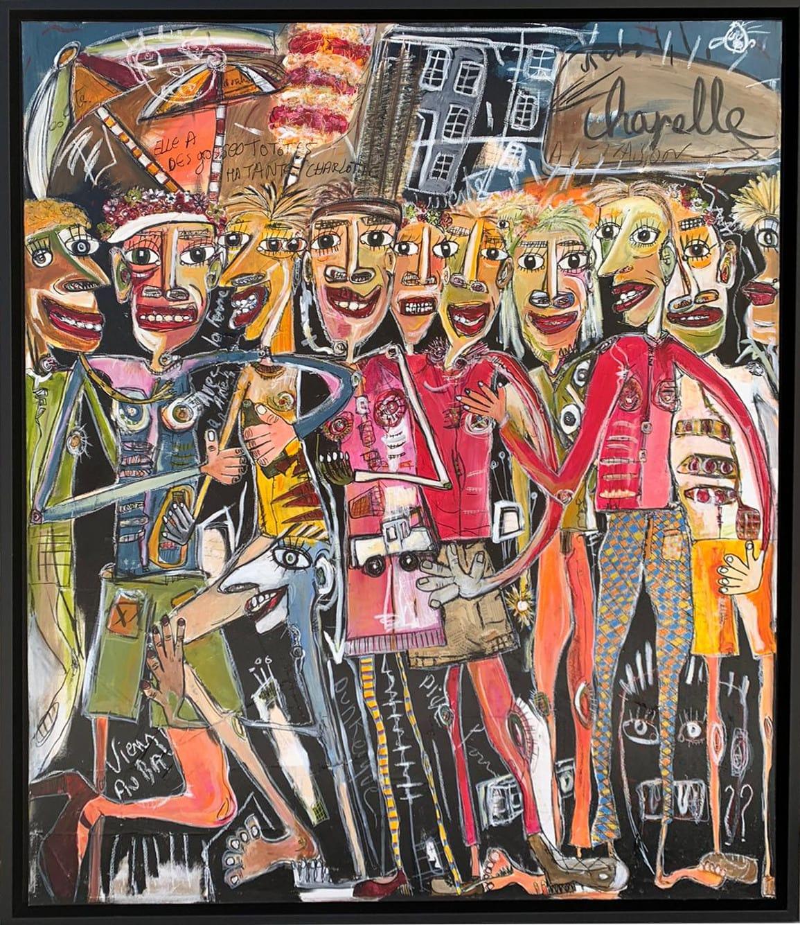 Martine coloos - Un carnaval ici - 120x150-min