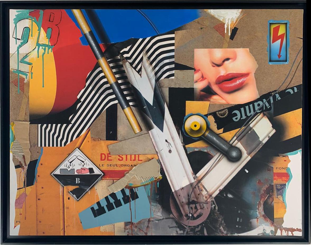 Peter Klasen-bouche corrosif-116x89