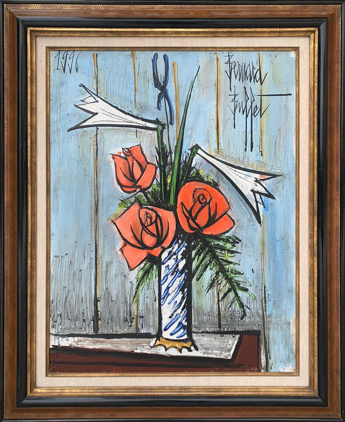 Roses, Lys, Iris - 65x50