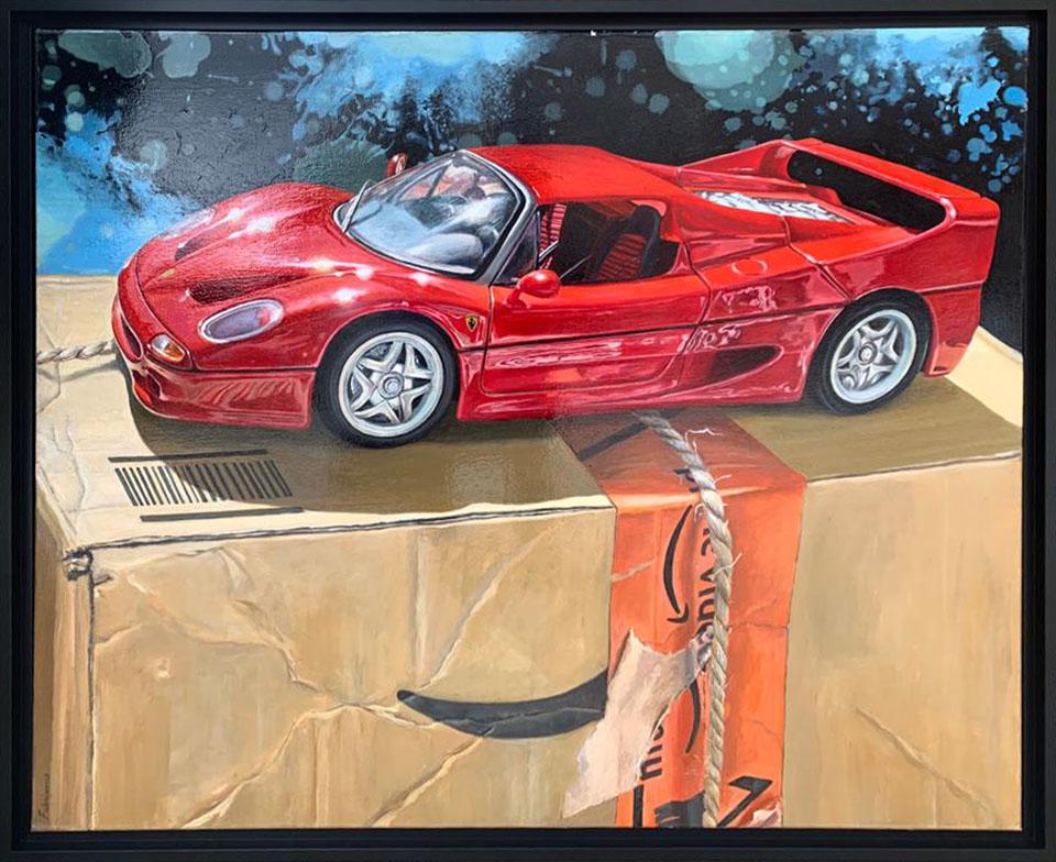 Ferrari F50 - 102x81