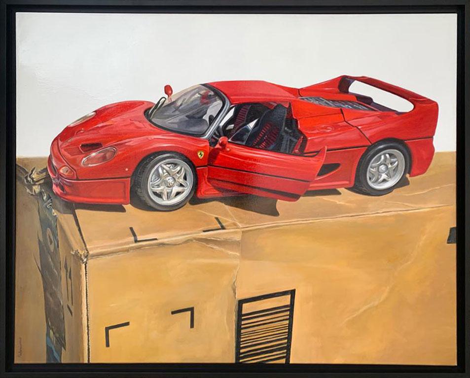 Ferrari F50 bis - 102x81