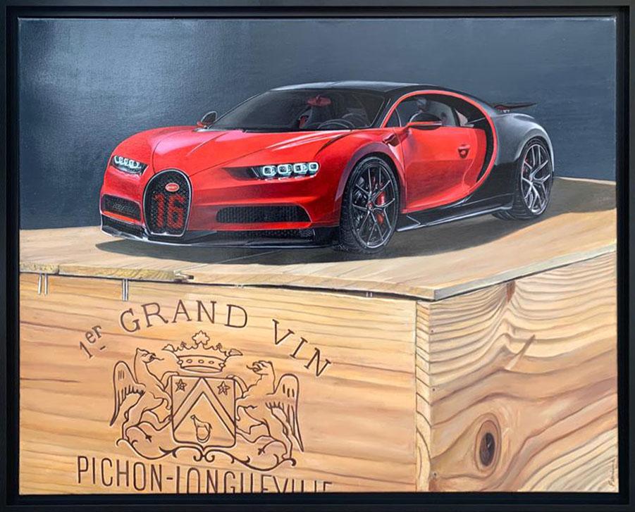 Pichon longueville (Bugatti Chiron) - 102x81