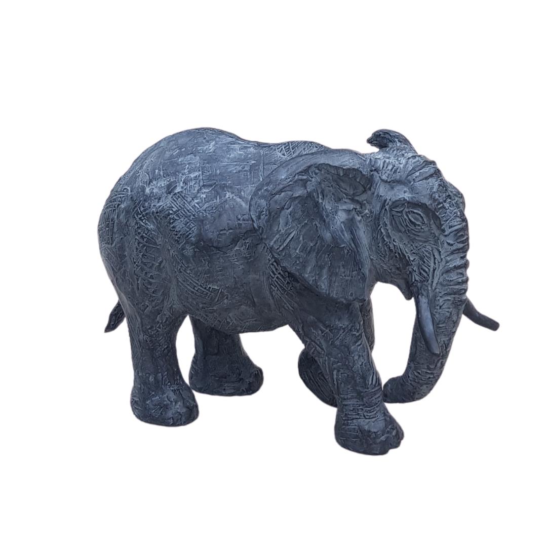 Sculpture éléphant Nathalie Lefort