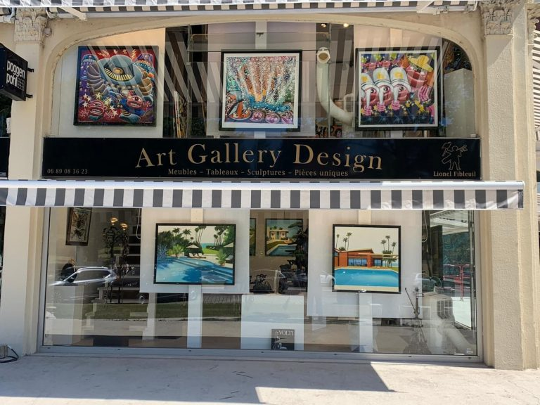 Art Gallery Design, galerie d'art au Touquet (1)