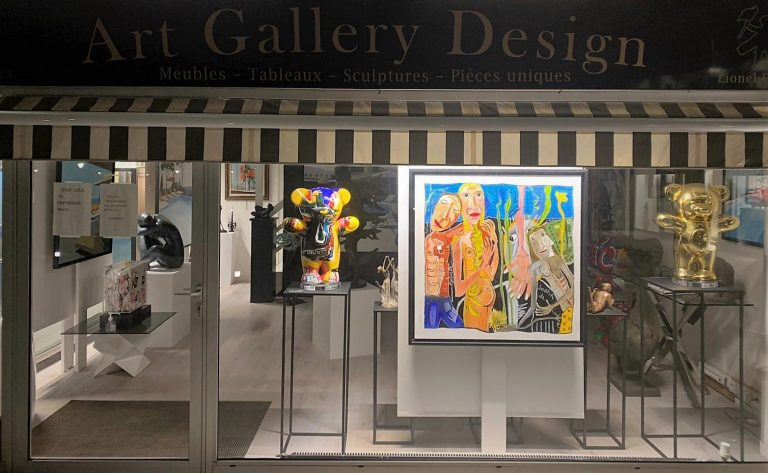 Art Gallery Design, galerie d'art au Touquet (3)